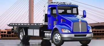 truck & trailer news wallwork truck center Kenworth T370 Crane and the popular kenworth t370 just became even more versatile thanks to the availability of wide base tires for applications requiring up to 20,000 lb front at Kenworth T370 Dump Truck